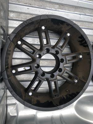 """20"""" black 8-lug off-road style rims for Sale in La Mesa, CA"""