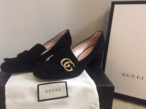Gucci suede leather shoes for Sale in Atlanta, GA