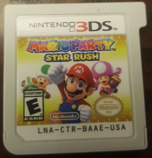 Mario Party Star Rush for Nintendo 3ds for Sale in Holland, PA
