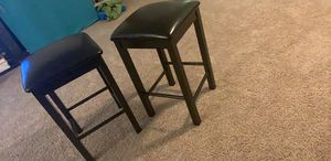 2 bar stools with cushions for Sale in Chevy Chase, MD