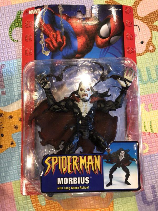 Spider-Man Morbius action figure