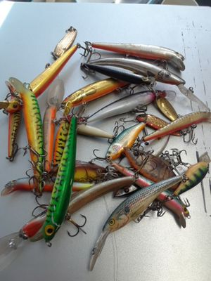 Old fishing lures for Sale in Denver, CO