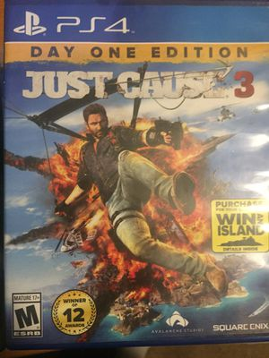 Just cause 3 PS4 for Sale in Manassas, VA