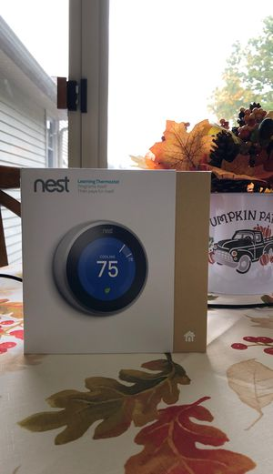 Nest Learning Thermostat (3rd Generation) for Sale in Peabody, MA