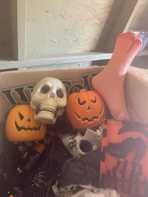 Semi new Halloween decorations selling all as a bundle for Sale in San Jose, CA