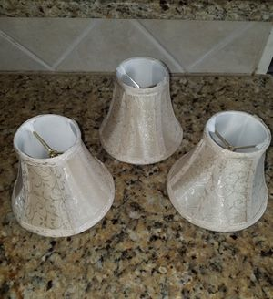 Set of 3 Decorative Mini Lamp Shades for Sale in Franklin, TN