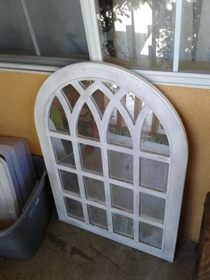 Vintage antiqued Z gallerie type mirror for Sale in Westminster, CA