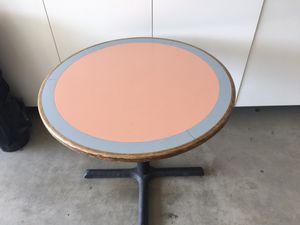 Vintage 1960s Formica inlay dining table - all original for Sale in La Quinta, CA