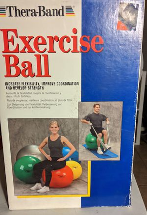 Exercise Ball - Thera-Band for Sale in Peoria, AZ