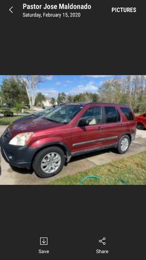2006 Honda CRV for Sale in Land O Lakes, FL