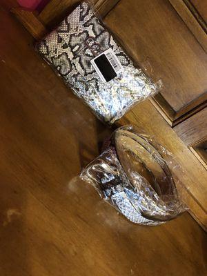 Handbag and Belt for Sale in Garland, TX