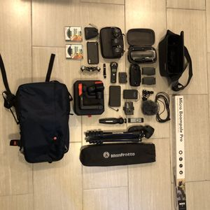 Manfrotto camera bag w tripods, lenses, mavic drone, etc. *SEE DESCRIPTION* for Sale in Fremont, CA