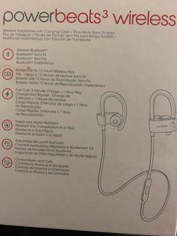 Power beats 3 wireless for Sale in Alexandria,  VA