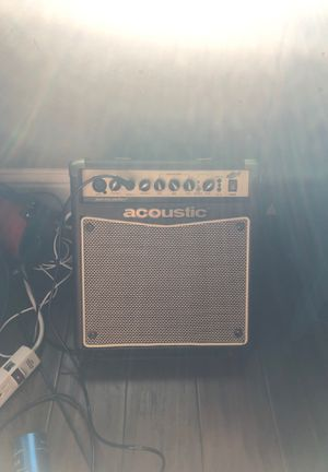 Acoustic brand guitar amplifier. for Sale in San Ramon, CA