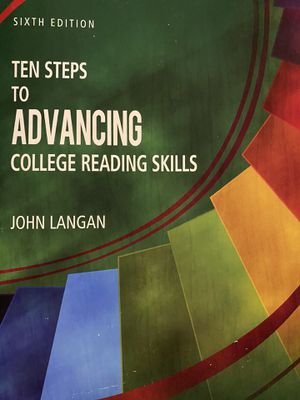 Ten Steps To Advancing College Reading Skills for Sale in Columbus, OH
