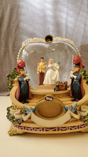 Disney Cinderella and Prince Charming Snow Globe for Sale in Frederick, MD