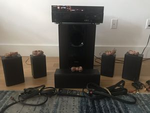 Insignia Surround around Stereo System (NS-R5101AHD) WITH SUB WOOFER - AV Home Theatre Receiver for Sale in New York, NY