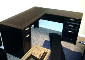 Realspace Magellan dark brown espresso office desk for Sale in La Mesa, CA