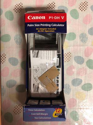 Canon Printing Calculator for Sale in Bartlett, IL