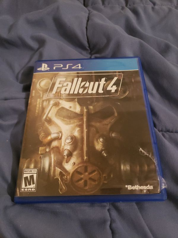 Fallout 4 PlayStation 4 Complete Tested Video Game