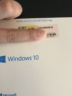 Microsoft Windows 10 pro disk with key for laptop and desktop computer pc for Sale in Doral,  FL