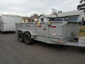 18×8.5 diamond dump trailer for Sale in Visalia, CA