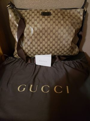 Authentic Gucci GG Crystal Messenger/Crossbody for Sale in Pflugerville, TX