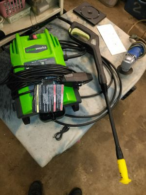 2 - Greenworks Electric 1500 psi pressure washers for Sale in Canal Winchester, OH