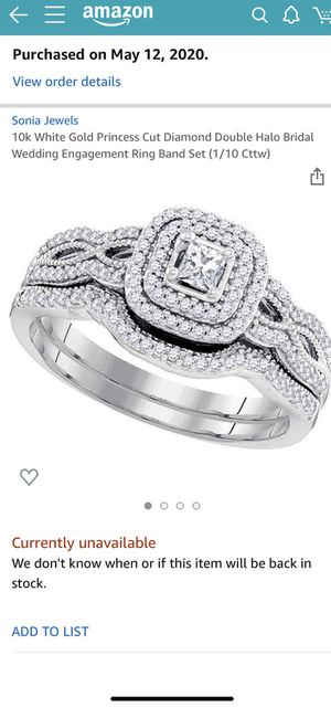 Wedding/ engagement ring size 10 for Sale in Millington, MI