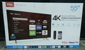 """55"""" roku smart tv for Sale in Cranston, RI"""