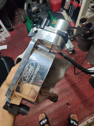 Ford racing throtle body for cobra jet set up for Sale in Hialeah, FL