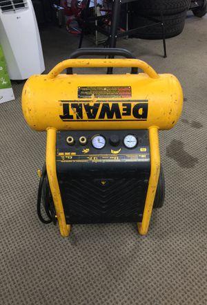 DEWALT PORTABLE ELECTRIC AIR COMPRESSOR for Sale in Taylor, MI