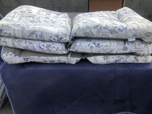 3 couching chairs 3 cojines para silla for Sale in Bakersfield, CA