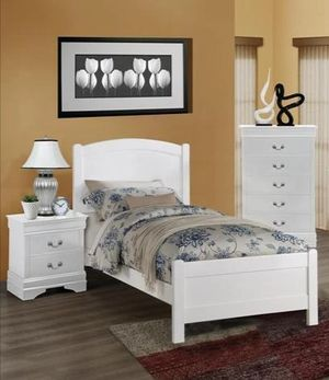 # Brand New 4-PIECE Twin Size Bedroom Set. for Sale in Jessup, MD