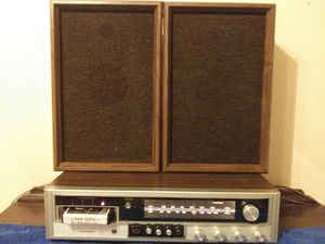 Vintage AM FM stereo 8-track player for Sale in Princeton, WV