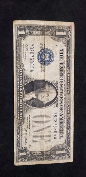 1928 one dollar bill for Sale in Mission Viejo, CA