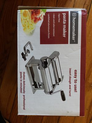 Pasta Maker and pasta Draining Rack for Sale in Queens, NY