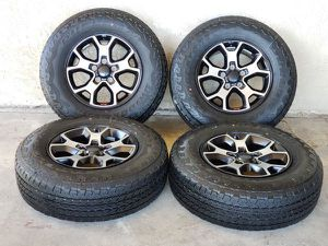 """17"""" Jeep Rubicon Wrangler Gladiator Wheels Rims Rines and Tires Llantas for Sale in Anaheim, CA"""