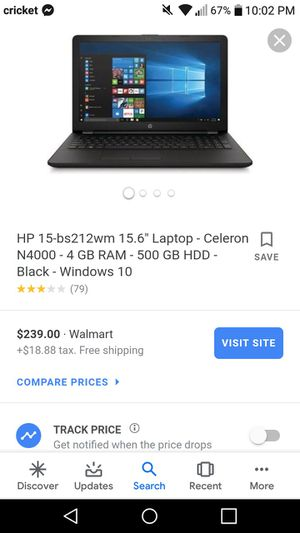 Hp laptop brand new for Sale in Sunnyside, WA
