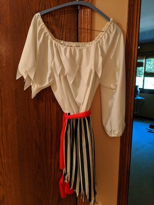 Halloween Ladies Wench/Pirate Costume _ one piece (fits Sm to Med build) for Sale in Downers Grove, IL