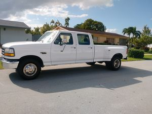 1994 FORD F-350 DIESEL 7.3 L CREW CAB LONG BED PICKUP TRUCK for Sale in Miami, FL