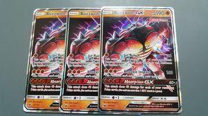 Buzzwole GX x3 Set Pokemon Cards for Sale in Phoenix, AZ