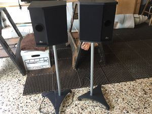 DBX Speakers on Stands. Set of 2. for Sale in Laguna Beach, CA