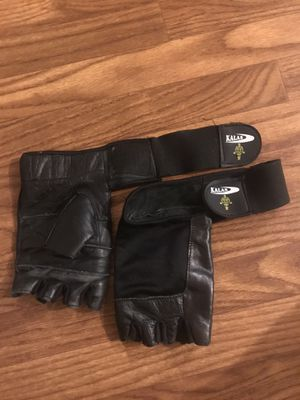 Weight lifting leather gloves Large for Sale in San Jose, CA