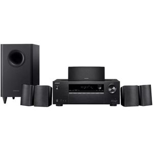 Onkyo- HT 5.1 CH 4k HOME THEATER SYSTEM BLACK for Sale in Quincy, MA
