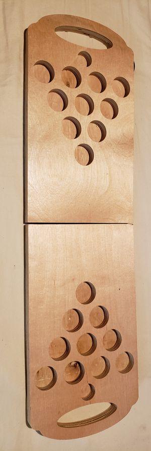 Wood Shot Pong Game Board for Sale in Scottsdale, AZ