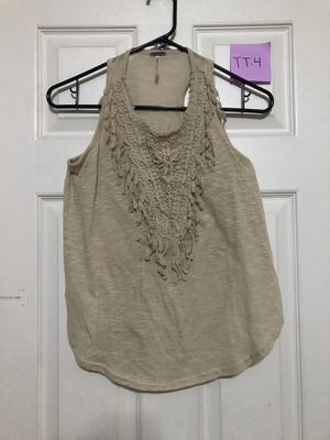 Poof Girl Tan Lace Tank Top Size XL for Sale in Bonita, CA