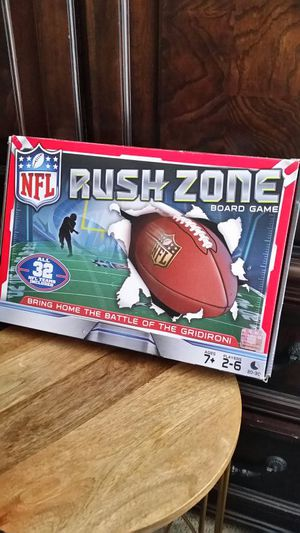 Rush Zone Football Board Game for Sale in Kissimmee, FL