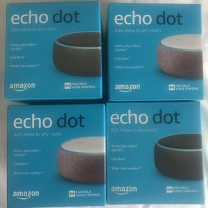 Echo Dot 3 $25 each for Sale in Moseley, VA