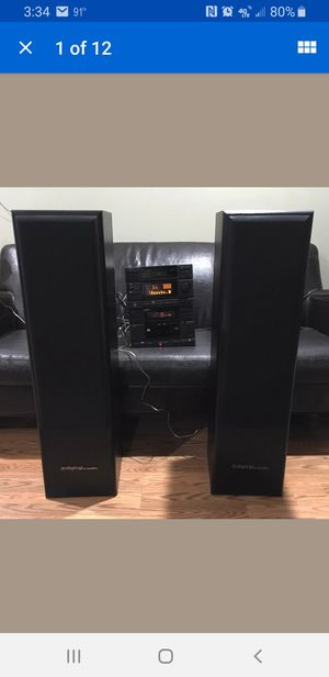 Digital Pro Audio Model DPA SL-T 2.8 Speakers for Sale in Richmond, CA